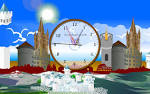 Download Castle Clock ScreenSaver at Free Download 64 (Screen ... all-freeware.com
