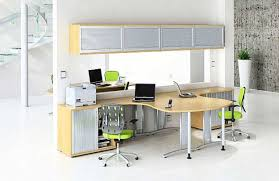Contemporary Home Office Desks For Two About Pinterest Twoperson - Home office cabinet design ideas