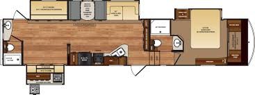 Fifth Wheel Bunkhouse Floor Plans Wildcat Fifth Wheels Floorplans By Forest River Rv Colonia Del