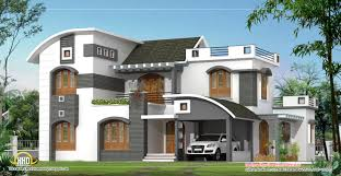 February Kerala Home Design Floor Plans Modern House Plans Designs - Home designes