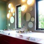 Bathroom Mirror With Lights Built In by Bathroom Rectangular Bathroom Mirrors With Lights And White
