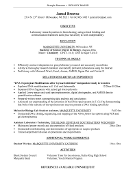Teamwork Resume Sample by Biology Resume Sample Jennywashere Com