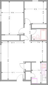 Two Bedroom Apartment Floor Plans Bedroom Floor Plan Home Planning Ideas 2017