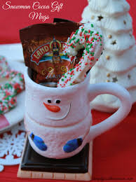 Home Made Christmas Gifts by Homemade Christmas Gift Cocoa Mug With Peppermint Stir Sticks
