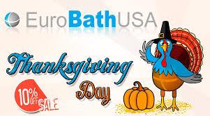 thanksgiving day sale eurobath usa eurobathusa twitter
