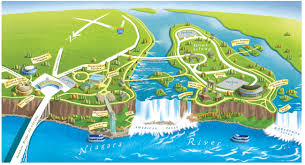 Ohio State Parks Map Niagara Falls State Park