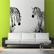 zebra vinyl wall decal wild grass african art zebra vinyl wall decal wild grass african art stickers decals murals stencil