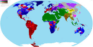 Pictures Of World Map by Incredibly Detailed Map Of The World U0027s Religions Brilliant Maps