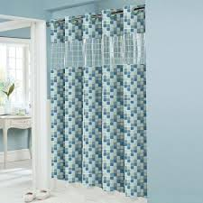 Bed Bath And Beyond Shower Curtain Liner Hookless Peva Shower Curtain Hookless Shower Curtain Pinterest