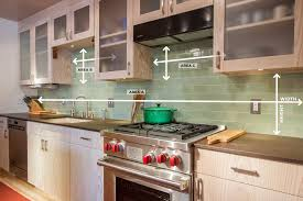 how to measure your kitchen backsplash
