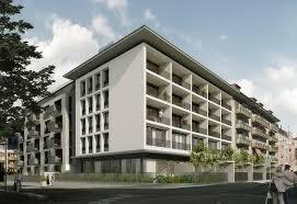 Modern Apartment Building Design Plush Design Ideas Modern - Apartment building design