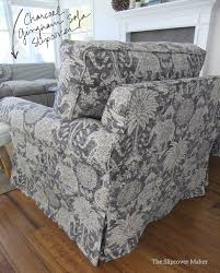 Sofa Slipcovers India by Printed Linen Slipcovers The Slipcover Maker