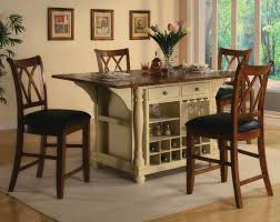 Kitchen Island Chair by Kitchen Room Best Kitchen Island Table Combination Black Table