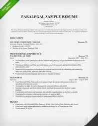 Creative Legal Resumes Writing Paralegal Resumes For Experienced And New Paralegals
