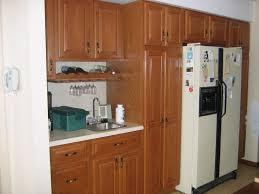 kitchen cabinets white cabinets and walnut island small kitchen