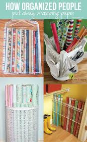 best 25 wrapping paper organization ideas only on pinterest