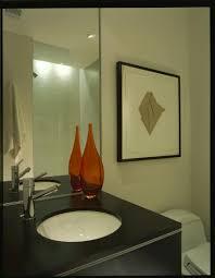 bathroom design innovative wicker laundry basket in powder room