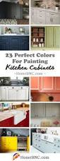 Best Kitchen Cabinet Paint Colors by 23 Best Kitchen Cabinets Painting Color Ideas And Designs For 2017