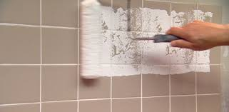 Paint For Bathroom Walls How To Paint Over Ceramic Tile In A Bathroom Today U0027s Homeowner