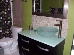 kitchen design black and white glass tile bathroom backsplash