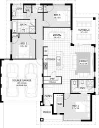 Simple 4 Bedroom House Plans by Three Bedroom House Plans Chuckturner Us Chuckturner Us