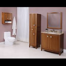 Modern Walnut Bathroom Vanity by Decolav 5242 Gavin 36