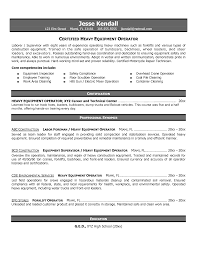 sample resume truck driver resume machine resume cv cover letter resume machine machine operator resume examples selective certification gallery photos of heavy equipment operator resume samples