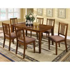 furniture of america cm3128t 7pk mackay dining set the mine