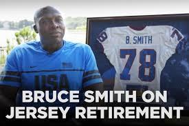 Bruce B by Bills Legend Bruce Smith On His Jersey Retirement Sbnation Com