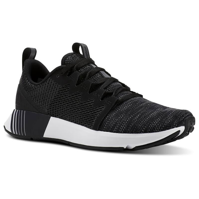 Reebok Fusium Run Black/Ash Grey/White Running Shoes