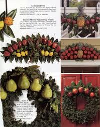 williamsburg christmas decorating using fruit christmas 2