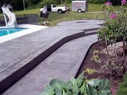 Fire Pit Pad by Stamped Concrete Driveways Patios Foundations Decorative Concrete