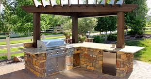 Vintage Decorating Ideas For Kitchens by Fine Vintage Patio Kitchen Design For Best Backyard Part Of Patio