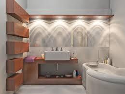 bathroom lighting ideas double vanity toilet in light brown tile