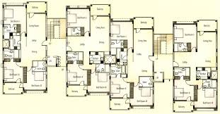 Apartment Unit Plans Apartments Typical Floor Plan Apartments - Apartment house plans designs