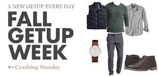 Fall Getup Week  Crushing Monday Primer Magazine