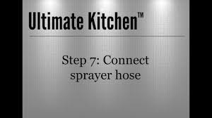 Kitchen Faucets Installation by Ultimate Kitchen Faucet Installation Youtube