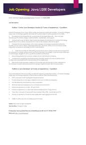 Best Java Developer Resume by 1 Year Experience Resume In Java J2ee Contegri Com