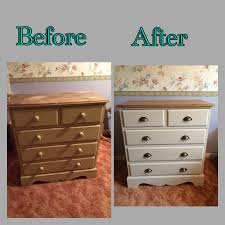 Pine Drawers Pine Chest Of Drawers Makeover Paintobsessed Home Pinterest