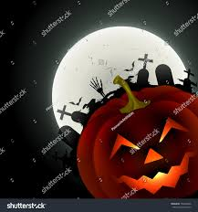halloween background of wich vector halloween design background illustration stock vector