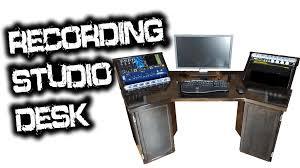 Custom Studio Desks by Recording Studio Desk For Glenn Fricker Youtube