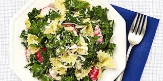 Pasta Recipes Best Kale Caesar Pasta Salad Recipe