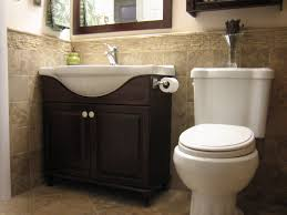 Bathroom Tile Images Ideas Appealing Half Bathroom Tile Ideas With Apartment Half Bathroom