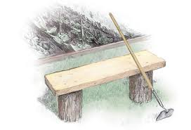 Basic Wood Bench Plans by 3 Easy To Build Outdoor Benches Diy Mother Earth News