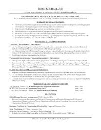 Resume Sample For Human Resource Position by Resume For Career Change Uxhandy Com