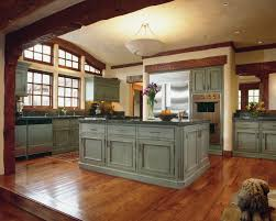 rustic blue kitchen ideas 7048 baytownkitchen best rustic kitchen design with wonderful pendant lamps and wooden kitchen island and wooden flooring