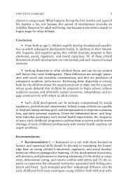 What To Put As An Objective On A Resume Report Contents From Neurons To Neighborhoods The Science Of