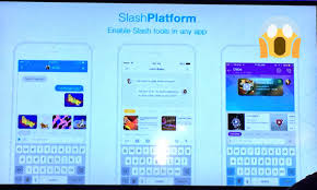 Sam Olstein   slammin    Twitter Twitter slashkeyboard announces slash platform that allows any app to build tools into the keyboard  Cool   AppFrontspic twitter com eNnOXWaxGl