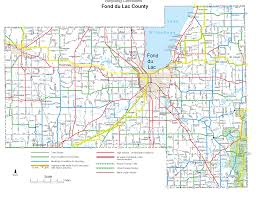 Wisconsin Map With Counties by Wisconsin Bicycle Routes