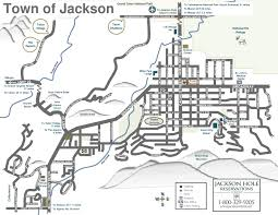 Wyoming Map Usa by Jackson Hole Area Maps